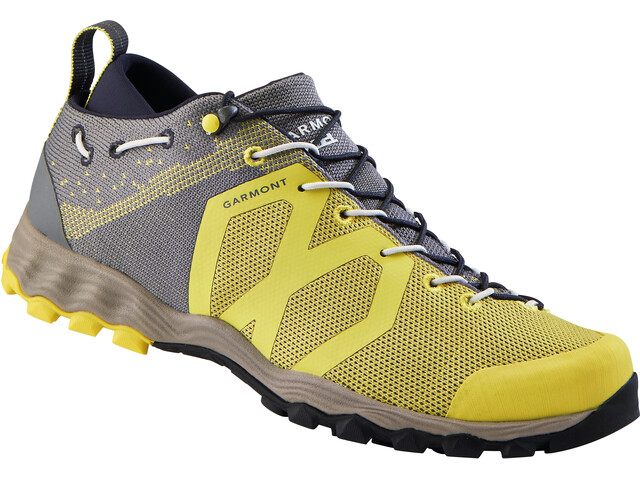 Garmont Agamura Knit Shoes Dame grey/yellow
